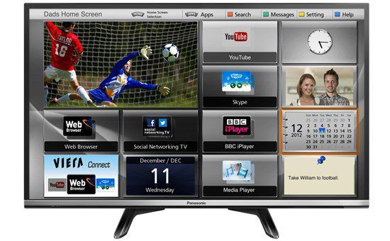 Tivi Led Panasonic TH-32DS500V Smart TV 32 inch