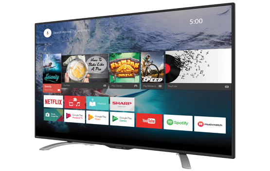 Tivi Led Sharp 50LE580X Smart TV 50 inch Full HD
